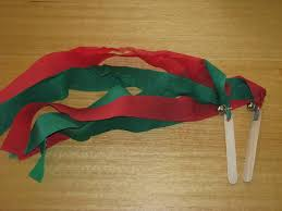 christmas streamers craft preschool education for kids