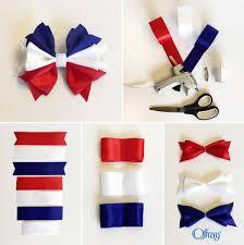offray ribbon patriotic hair bow offray ribbon hairbows
