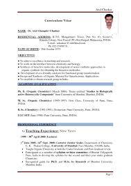 Teaching Resume Template Free Curriculum Vitae Educational Resume Templates Word Educat Saneme