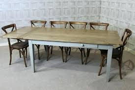Grey Rustic Dining Table Dining Table Person Farmhouse Dining Table Rustic Tables Uk