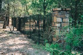 ornamental iron fences kistler fence