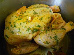 poulet farci à la marocaine recette sur cuisine actuelle