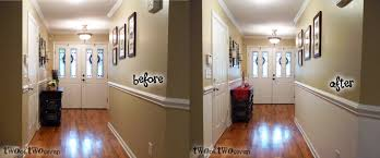tag for kitchen wall colors with chair rail two tone walls with