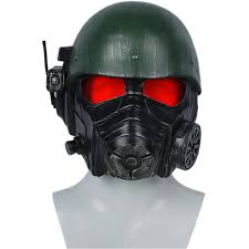 Gas Mask Halloween Costume Aliexpress Buy Xcoser Fallout 4 Veteran Ranger Helmet Resin