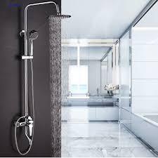 Bathroom Waterfall Faucet Dofaso Bathroom Waterfall Faucet Shower U0026 Taps Bath Rain Shower