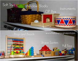 how do you store and organize montessori toys and materials