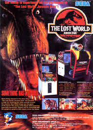 the lost world jurassic park the arcade flyer archive video game flyers lost world jurassic