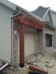 home decorator catalog pergola over garage how to install a patio door in block wall