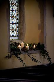 Electric Candles For Windows Decor Best 25 Church Candles Ideas On Pinterest Church Flowers