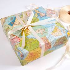 luxury wrapping paper patchwork map location luxury gift wrapping paper by bombus