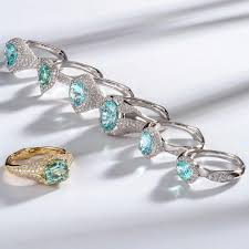 grandidierite engagement ring paraiba tourmalines the fascinating story of a rare gem the
