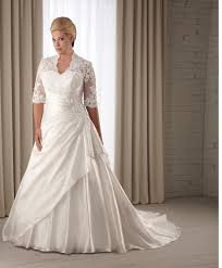 large size wedding dresses modest plus size wedding dresses with sleeves wasabifashioncult