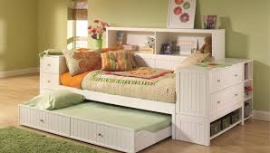 bedroom trundle bed mattress platform daybed with storage ikea