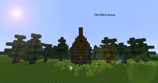 Minecraft House Map The Witch House Adventure Map Minecraft Project