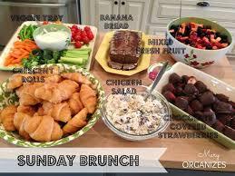 ideas for a brunch best 25 sunday brunch buffet ideas on brunch bar