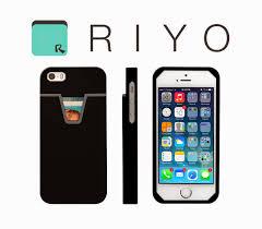 super minimalist wallet raises iq of your smartphone by riyo phone