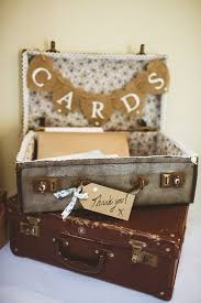wedding card boxes wedding post box vintage suitcase card box