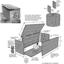 sea chest woodworking plans plans diy free download build a twin