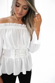 corset blouse shoulder corset blouse llacie com