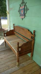 Old Wooden Benches For Sale Best 25 Headboard Benches Ideas On Pinterest Refinished