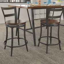 Furniture Row Bar Stools Mercury Row Baeza 24