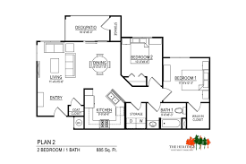 the heritage magna floor plan 2a american housing partners