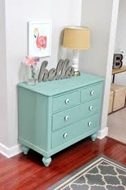 Decorating Dresser Top by Best 25 Mint Dresser Ideas On Pinterest Martha Stewart Chalk