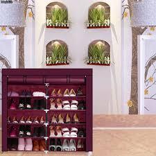 popular shoe storage cabinet buy cheap lots homdox home portable