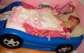Race Car Bunk Bed Falyn U0027s New Racecar Bed U2013 On Multiples And Mayhem