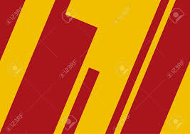 Spanish Flag Abstract Geometric Artwork Spanish Flag Concept Royalty Free