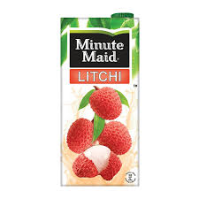 lychee juice minutemaid litchi 1 ltr pack of 1 amazon in grocery u0026 gourmet