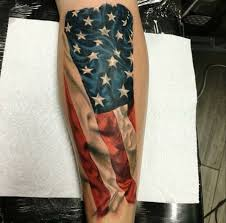 Patriotic Flag Tattoos 53 Coolest Must Watch Designs For Patriotic 4th July Tattoos