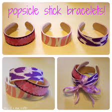 popsicle stick bracelets a tutorial diary of a mad crafter