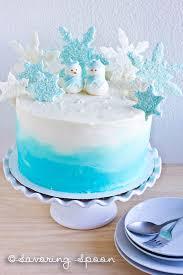 winter wonderland ombre cake savoring spoon u2014 savoring spoon
