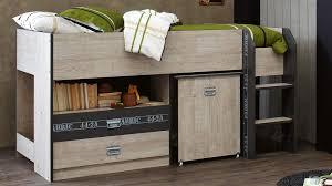 Metz Mini Sleeper Single Bed Kids Beds  Suites Bedroom Beds - Youth bedroom furniture australia