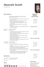 Office Assistant Resume Sample by Leasing Agent Resume Samples Visualcv Resume Samples Database