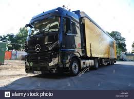 mercedes benz actros 1845 lorry parked up in koblenz germany