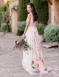 floral wedding dresses floral wedding dresses for feminine brides brides