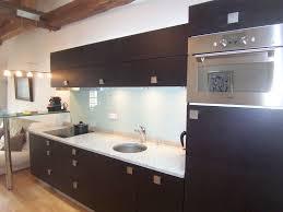 cuisine couleur wengé cuisine amenagee en longueur 9 une cuisine 233quip233e dans un