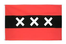 flag amsterdam 3x5 ft 90x150 cm royal flags