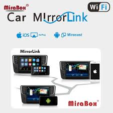 mirror link android the car mirrorlink screen box support ios and android