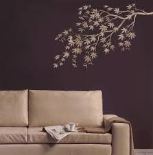 stencil japanese maple branch reusable stencils for easy details try wall stencils