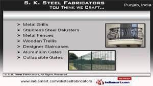 steel iron u0026 aluminium products by s k steel fabricators