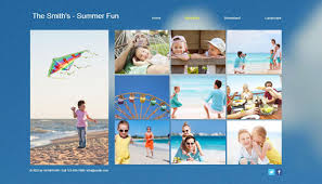 photo album online a free online family summer album with wix