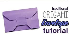 how to make an envelope origami tutorial origami handmade