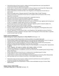 Sample Federal Budget Analyst Resume by Monique U0027s Buget Financial Program Analyst Resume