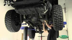 jeep wrangler exhaust systems gibson performance cat back exhaust system for jeep wrangler tj