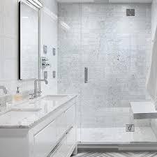 White Marble Floor Tile And Gray Marble Floor Design Ideas