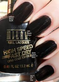 milani high speed fast dry swatches and review adventures in