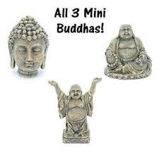 buddha aquarium ornament set of 3 mini 2 in penn plax ebay